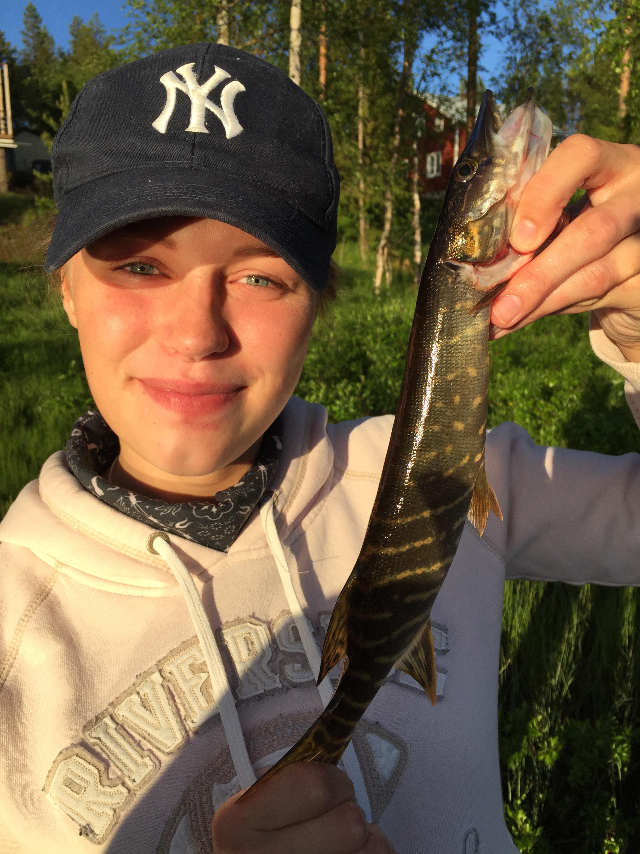 Fiske sommar 1